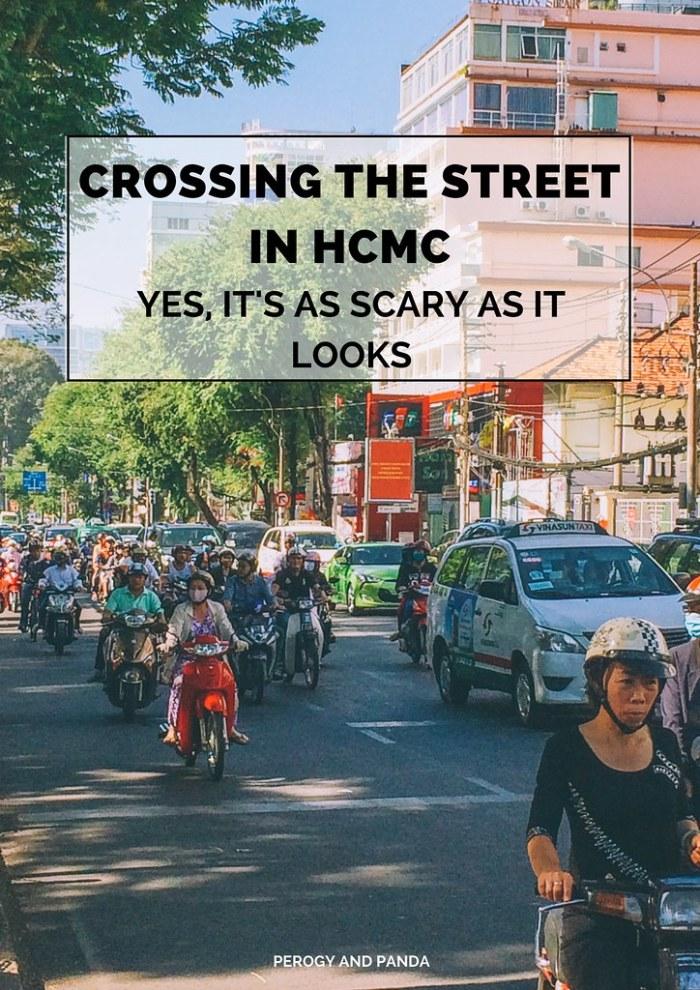 Crossing The Street In HCMC: Yes, It's As Scary As It Looks