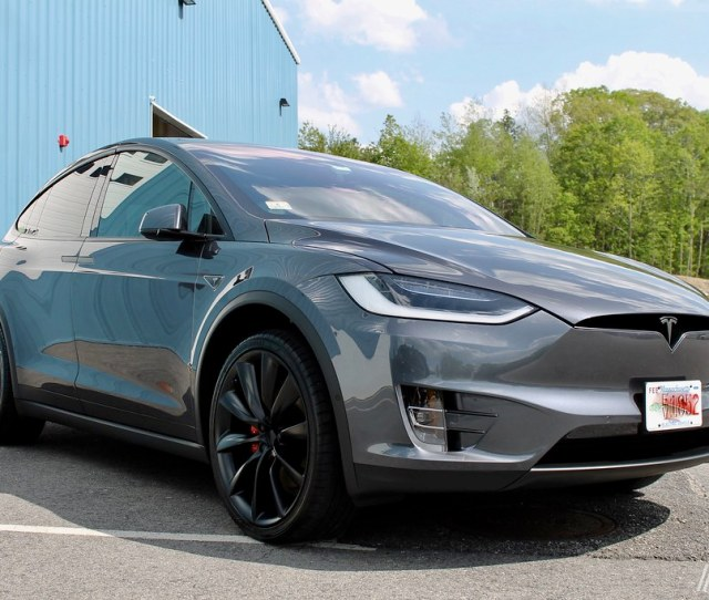 Tesla Model X Chrome Delete Full Front End Custom Ppf By Autonuvo
