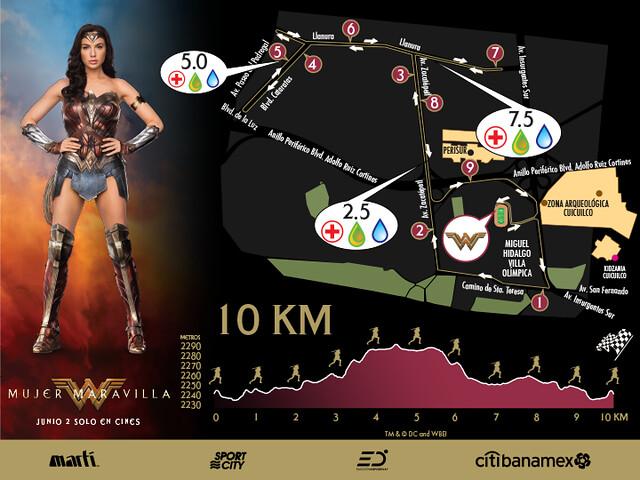 Carrera de la Mujer Maravilla 10K
