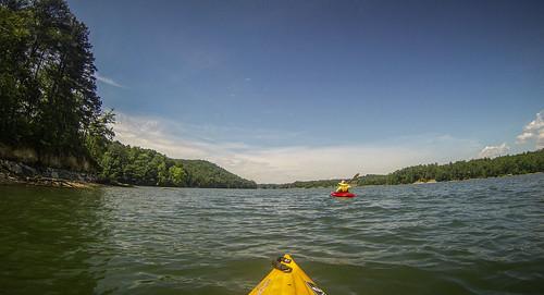 Lake Keowee and Estatoe Creek-48