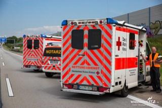 Verkehrsunfall A3 Medenbach 22.05.17