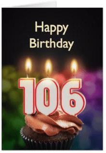 HAPPY BIRTHDAY 106 ERIC P NEWMAN