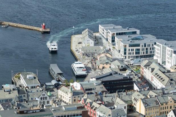 Muelle de Ålesund