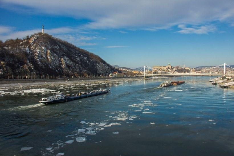 Donauen i Budapest, Ungarn