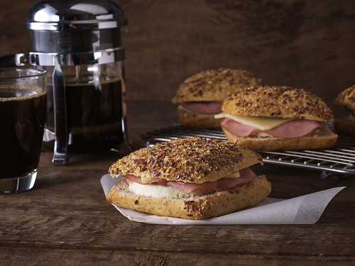 Starbucks Turkey Ham, Egg White and Fontina Cheese on Whole Wheat Bread