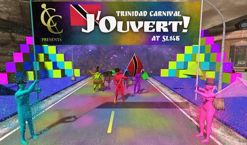 J'ouvert Mas' in Trinidad & Tobago