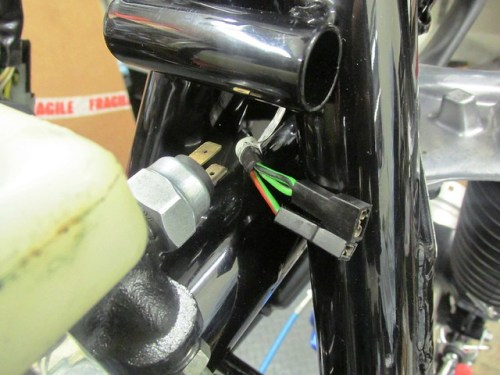 Wires To Front Brake Light Switch