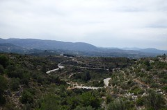 Panorama del territorio attraversato da Valencia a Saragozza