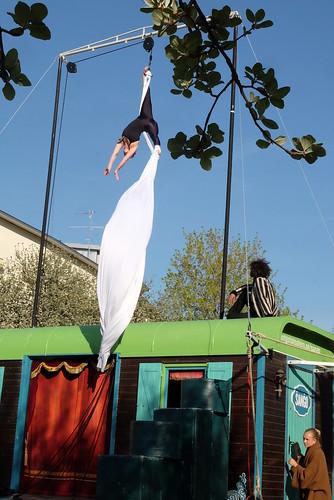 Sango – cirkus på väg med Östgötateatern