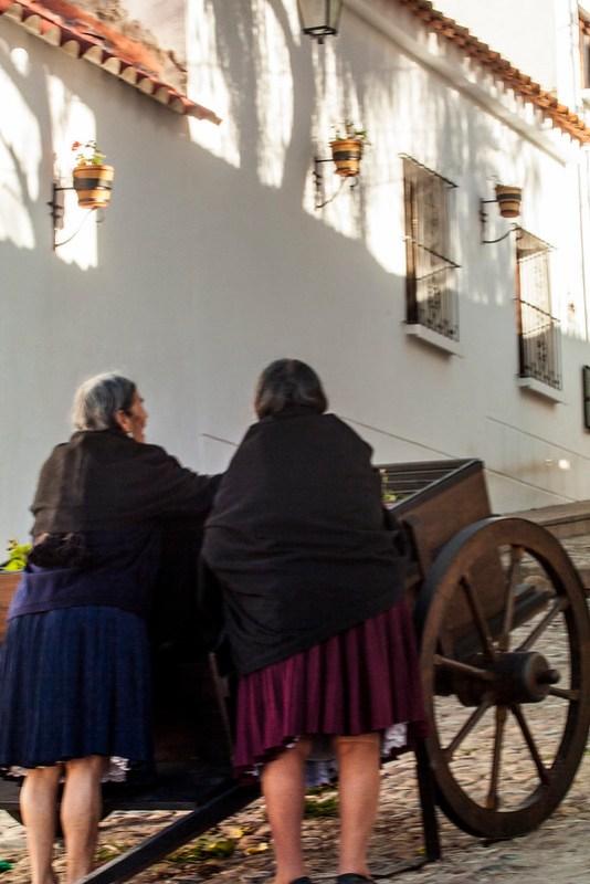 The wagon Sucre, Chuquisaca Department, Bolivia