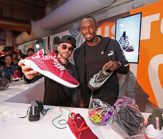 Usain Bolt y Yandel