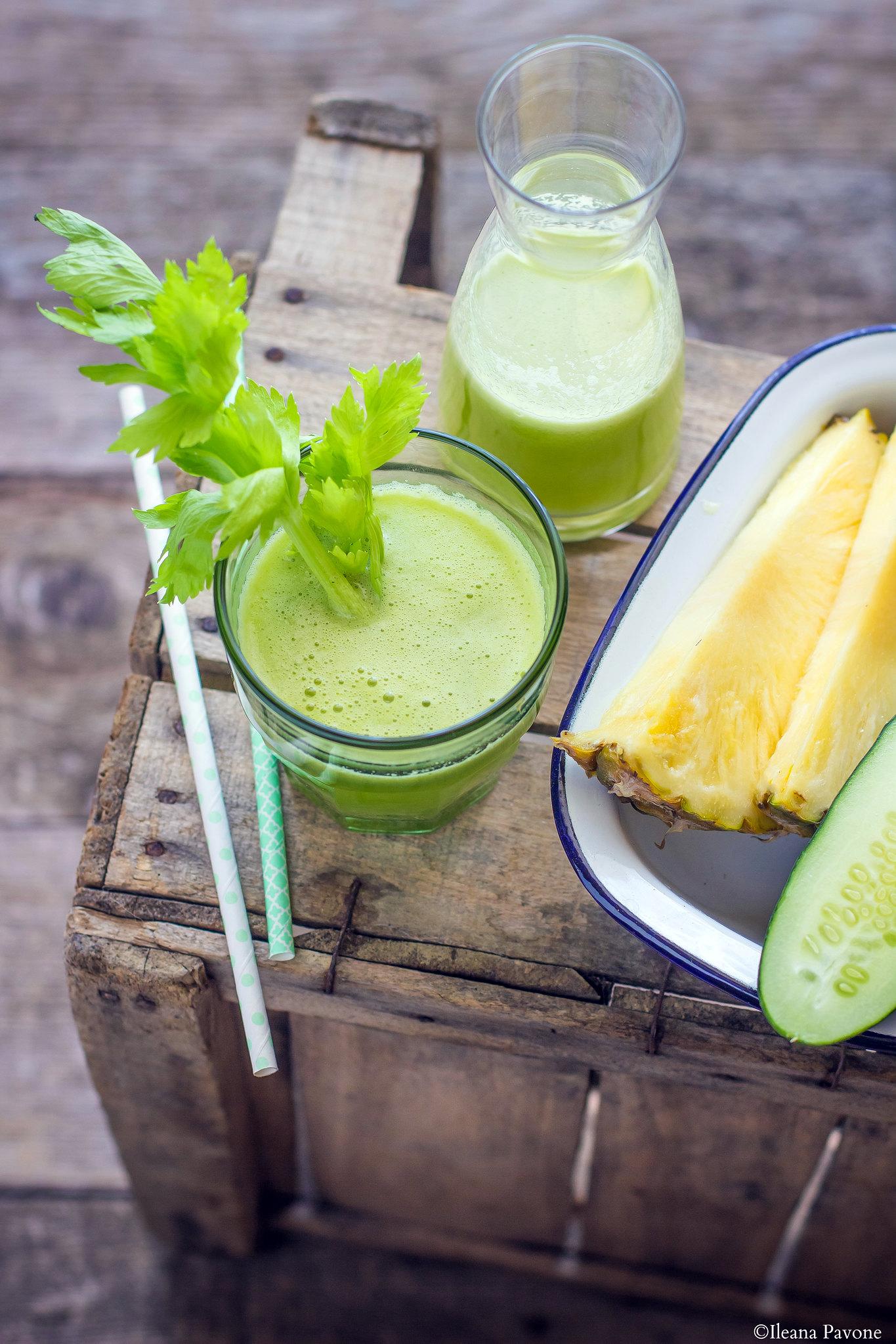succo di spinaci e cetrioli per dimagrire