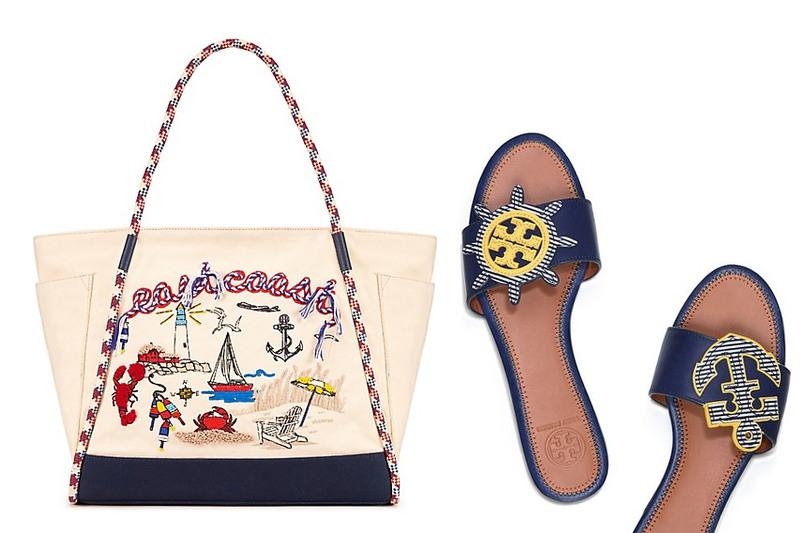 tory-burch-sale-beach-tote-nautical-sandals