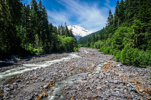 Mount Baker over Bear Creek-002