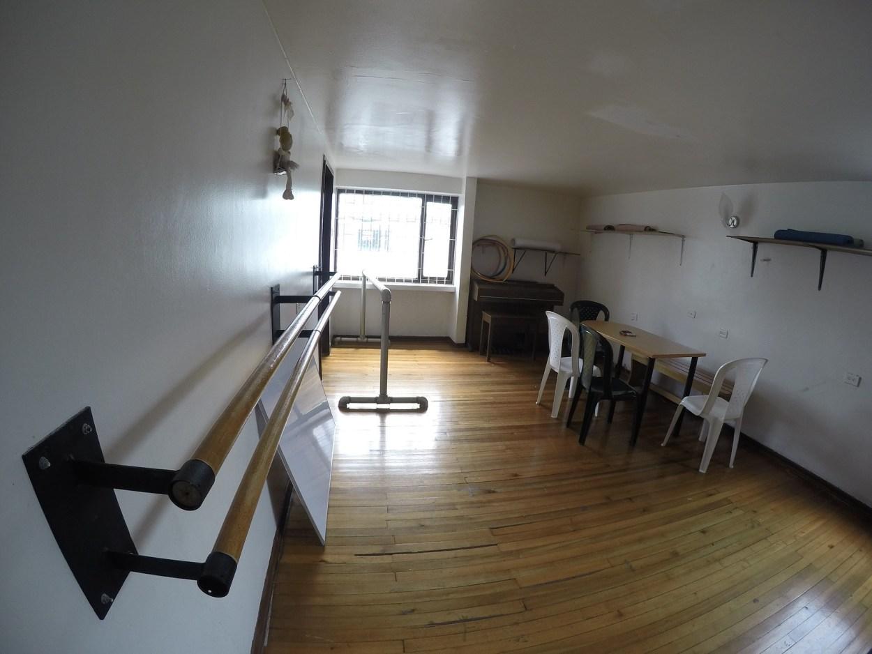 Espacio para alquilar – Salón 2do piso – Area: 6×3.5 mts