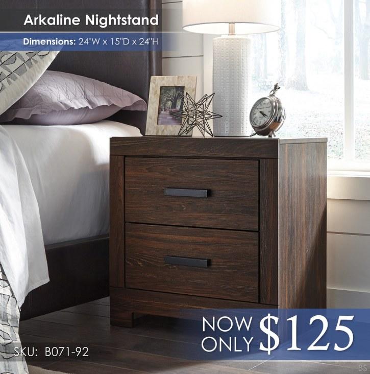 Arkaline Nightstand B071-92