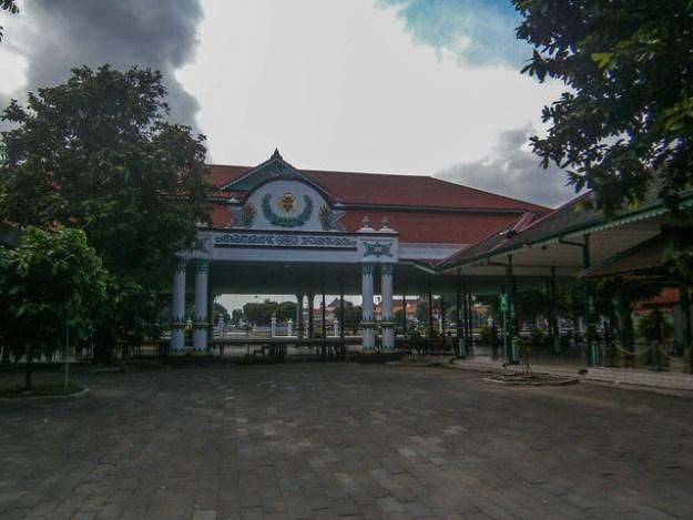 Keraton Palace Inner Courtyard