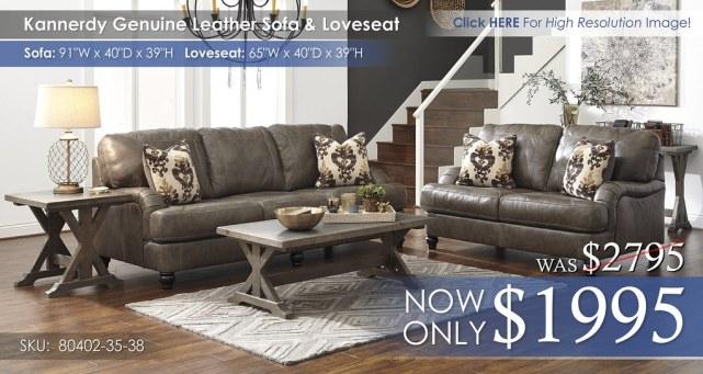 Kannerdy Genuine Leather Set 80402-38-35-T816