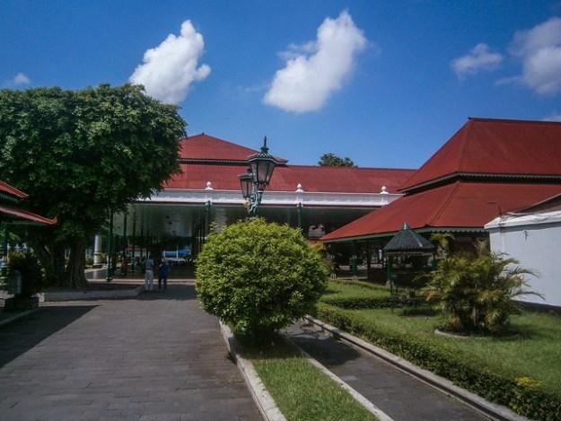 Keraton Palace Entry
