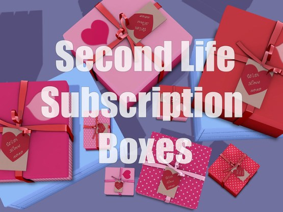 Second Life Subscription Boxes