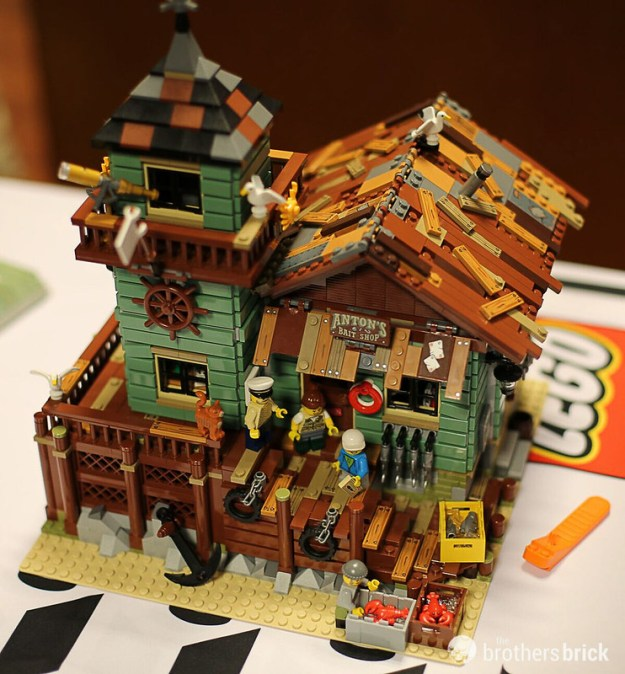 Interview with the lego ideas 21310 old fishing store for Lego old fishing store