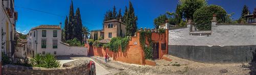AlbayzÃ-n, Granada, Spain.