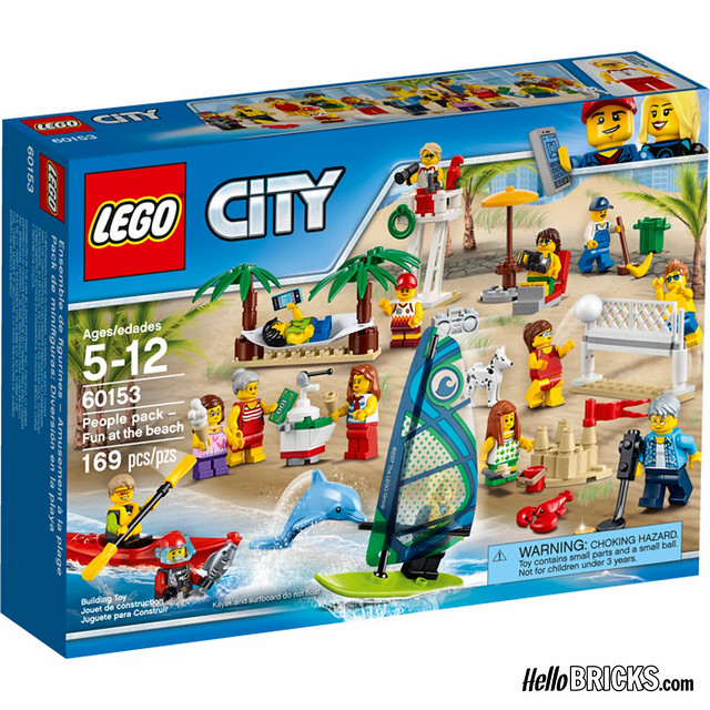 LEGO 60153 - City Pack - Fun at the Beach