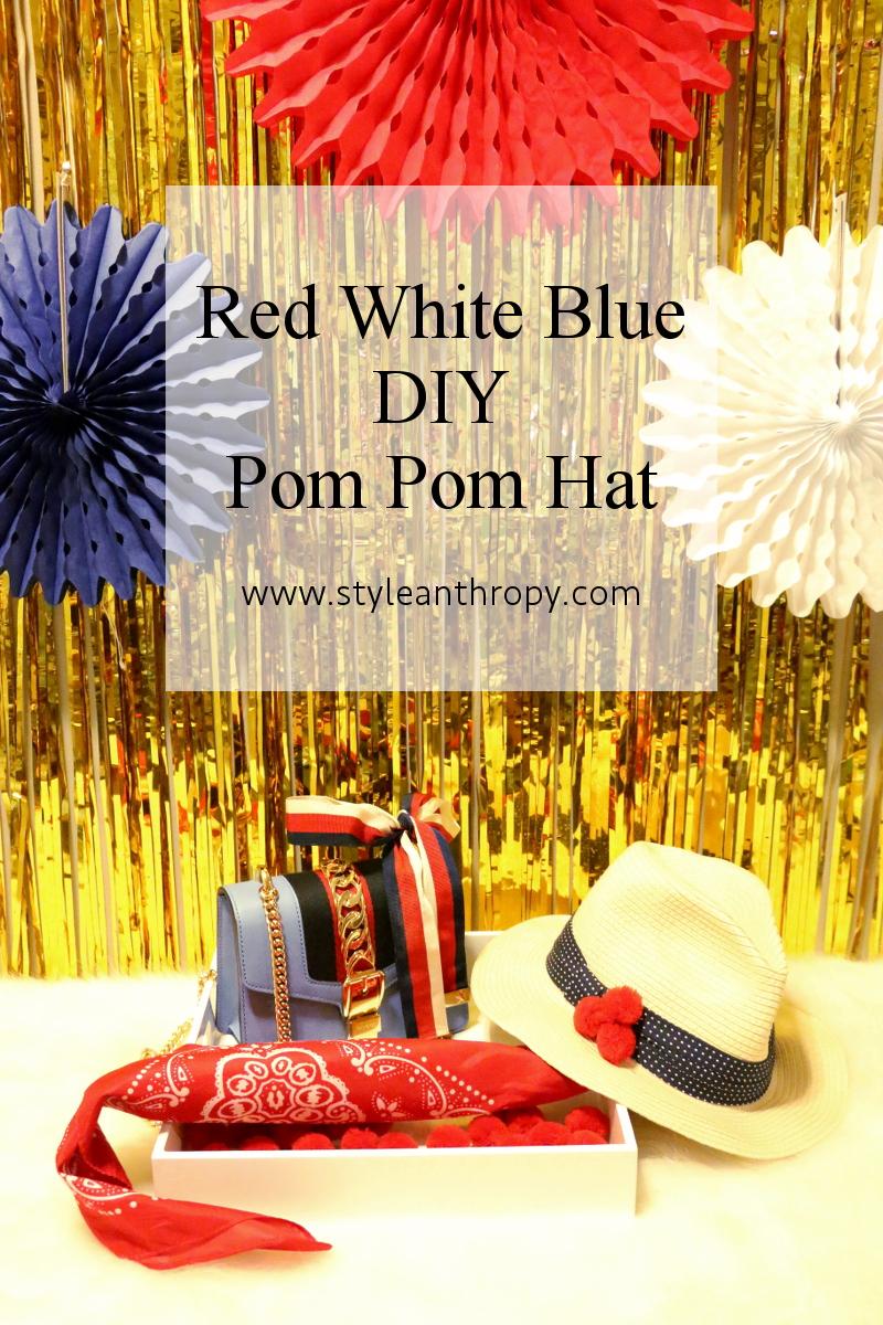 red-white-blue-accessories-DIY-pom-pom-hat-1