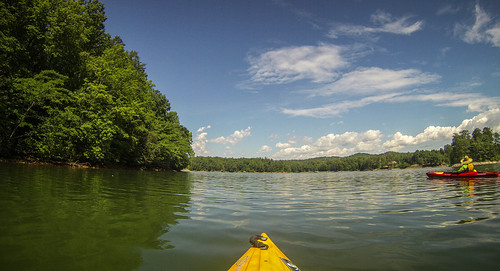 Lake Keowee and Estatoe Creek-45