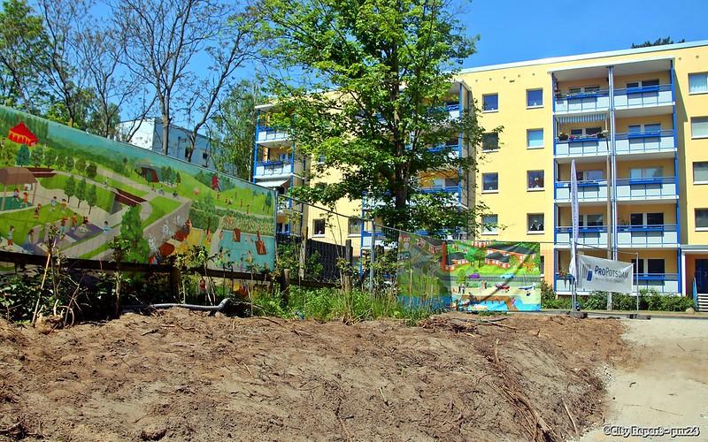ProPotsdam  legt Grundstein für 105 Wohnungen in Potsdam, Waldstadt II