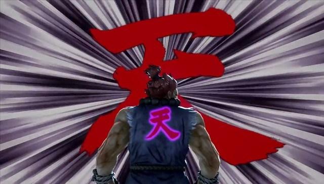 Tekken 7 - Akuma Derrotas Heihachi