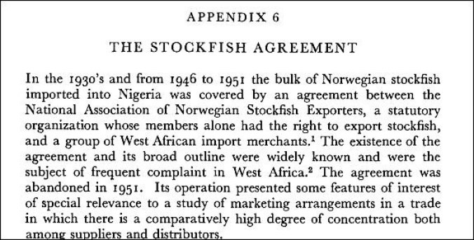 The stockfish agreement