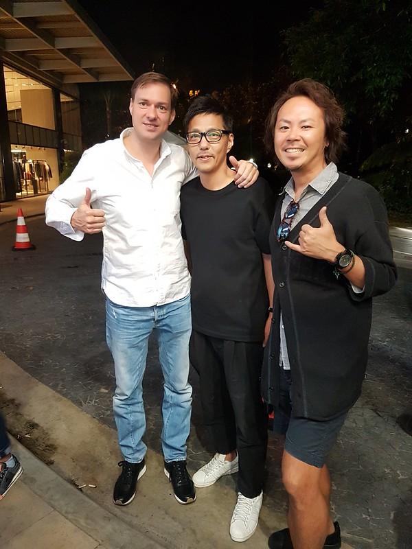Jeroen, Taka and Fumio