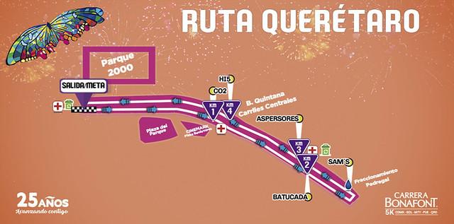 Ruta Carrera Bonafont 2017 Queretaro