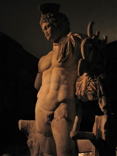 Statue of the god Hermes, Antalya Museum