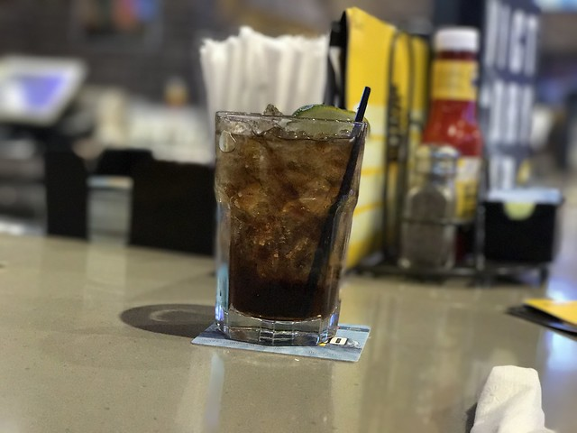 jack & coke at buffalo wild wings