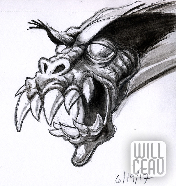 Sketchbook Dragon