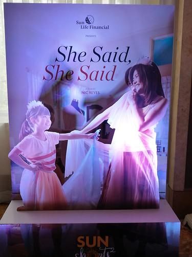 """She Said, She Said"" Sun Life short film"