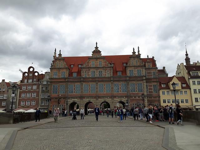 Green gate - Gdansk