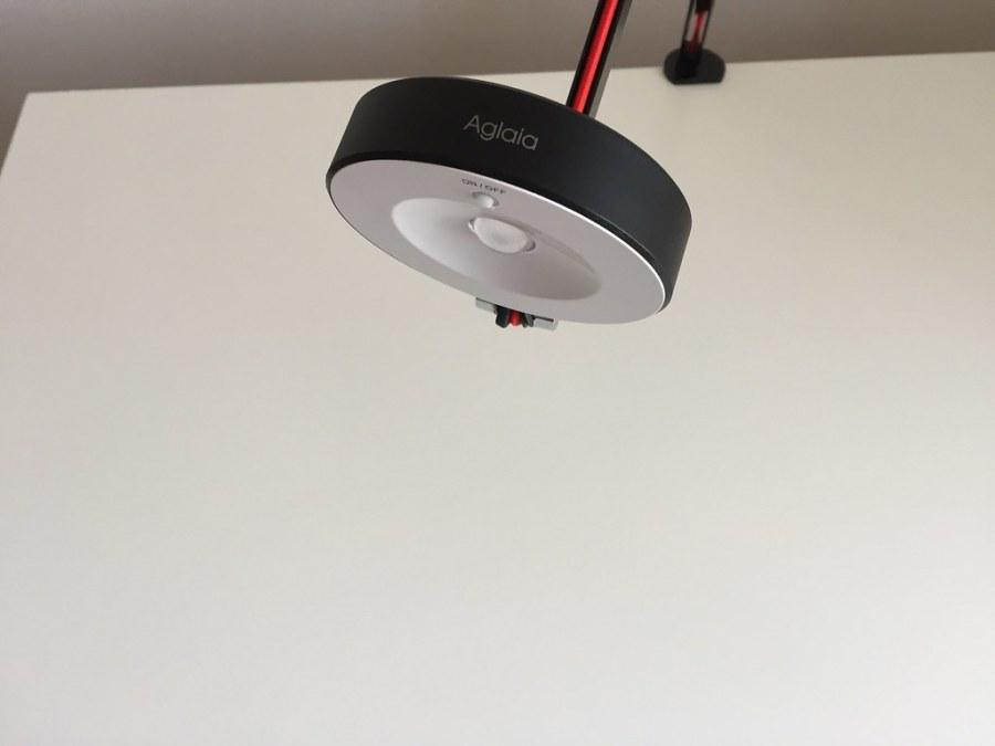 20170628 Test de la lampe de bureau LED Aglaia à bras articulé 13