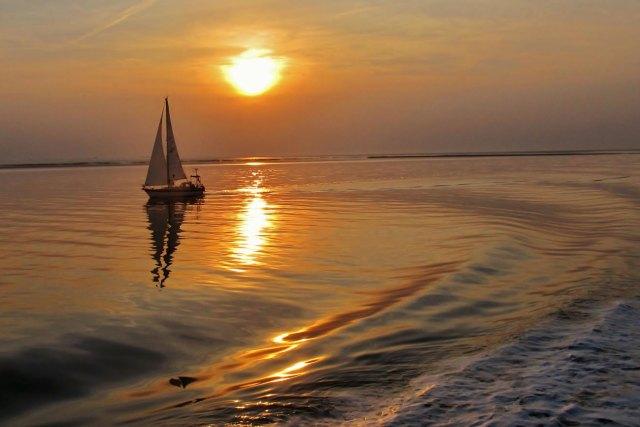Helgoland im Abendlicht