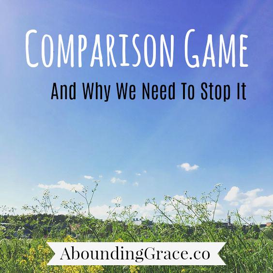 comparison game