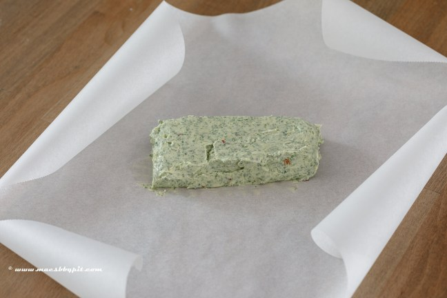 Salie chimichurri boter