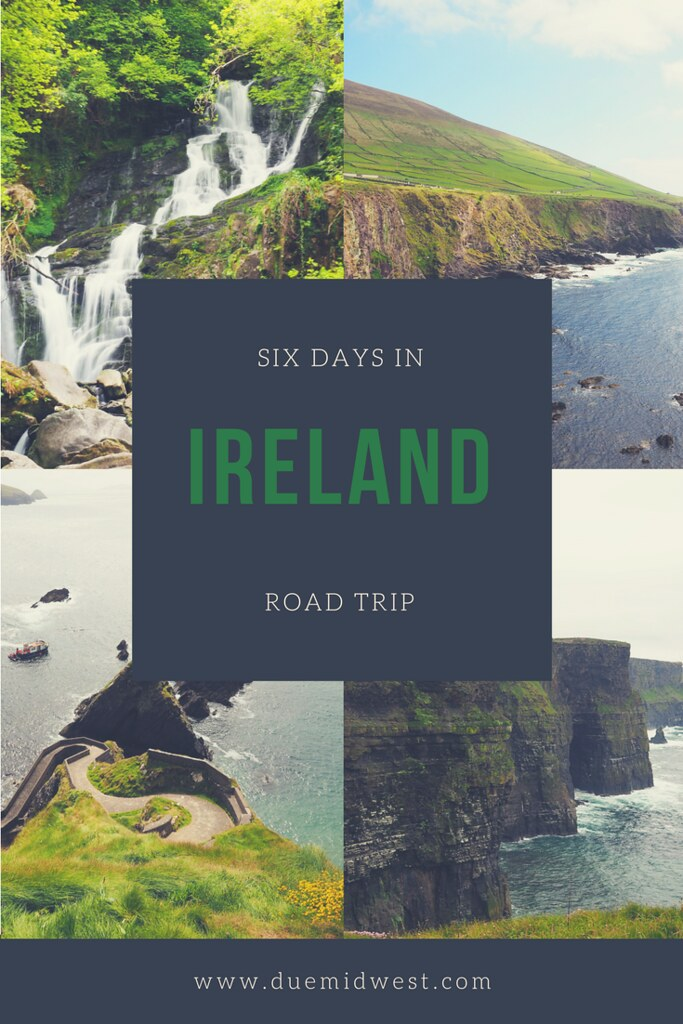 Six Day Road Trip in Ireland - Due Midwest