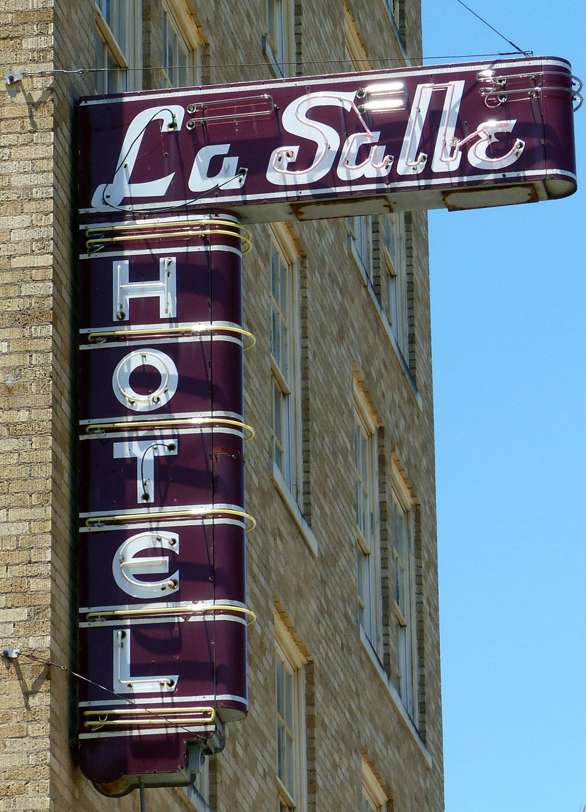 LaSalle Hotel - 120 South Main Street, Bryan, Texas U.S.A. - May 25, 2017