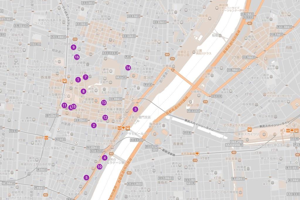 Asakusa Map 2