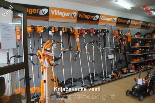 Villager prodavnica u Knjaževcu
