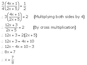 GSEB Solutions for Class 8 Mathematics - Equation - CBSE Tuts