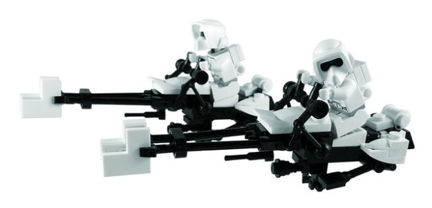 Apple Esque Speeder Bikes In White Instructions The Brothers