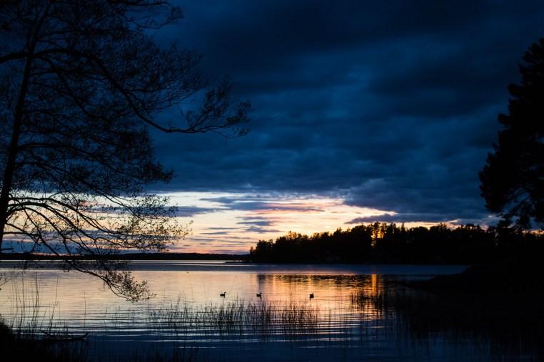 Solnedgång i Pottskär Kvicksund - reaktionista.se